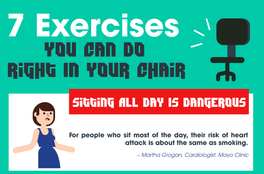 Exercises You Can Do In Your Chair